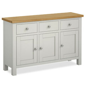 Farrow Grey Large Sideboard Cabinet