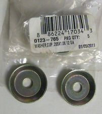 2 New Arctic Cat Hood Strap Cup Washers Part 0123-765