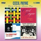 Three Classic Albums Plus by Cecil Payne (CD, Mar-2015, 2 Discs, Avid Entertainment)