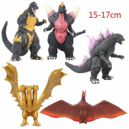 Novo Filme Godzilla King Ghidorah Boneco De Ação Em Pvc Pvc Modelo Presente Divertido Brinquedo Crianças