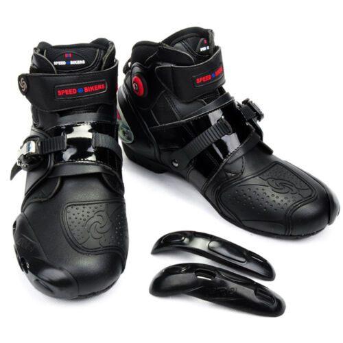 Motorcycle Boots Men Offroad Sports Motorbike Waterproof Racing Leather Shoes