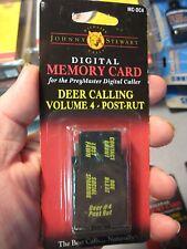 Wildlife Calls PreyMaster Digital Caller Memory Card Deer Calling Vol 4 Post-Rut