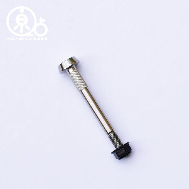 Titanium Nut /& Bolt For BROMPTON Suspension Block Lightweight GOLD