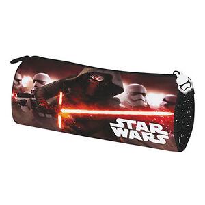 Star-Wars-Episode-7-Kylo-Ren-Stormtrooper-Pencil-Case-Pouch-Tube-School-Popular