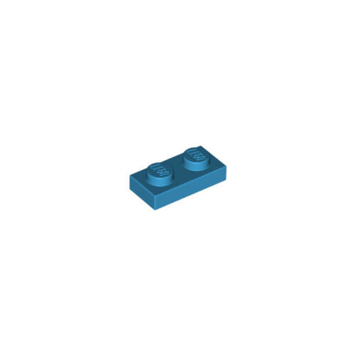 Lego ®//1x1 Plate With Clip//Red//Horizontal Vertical//20 Piece