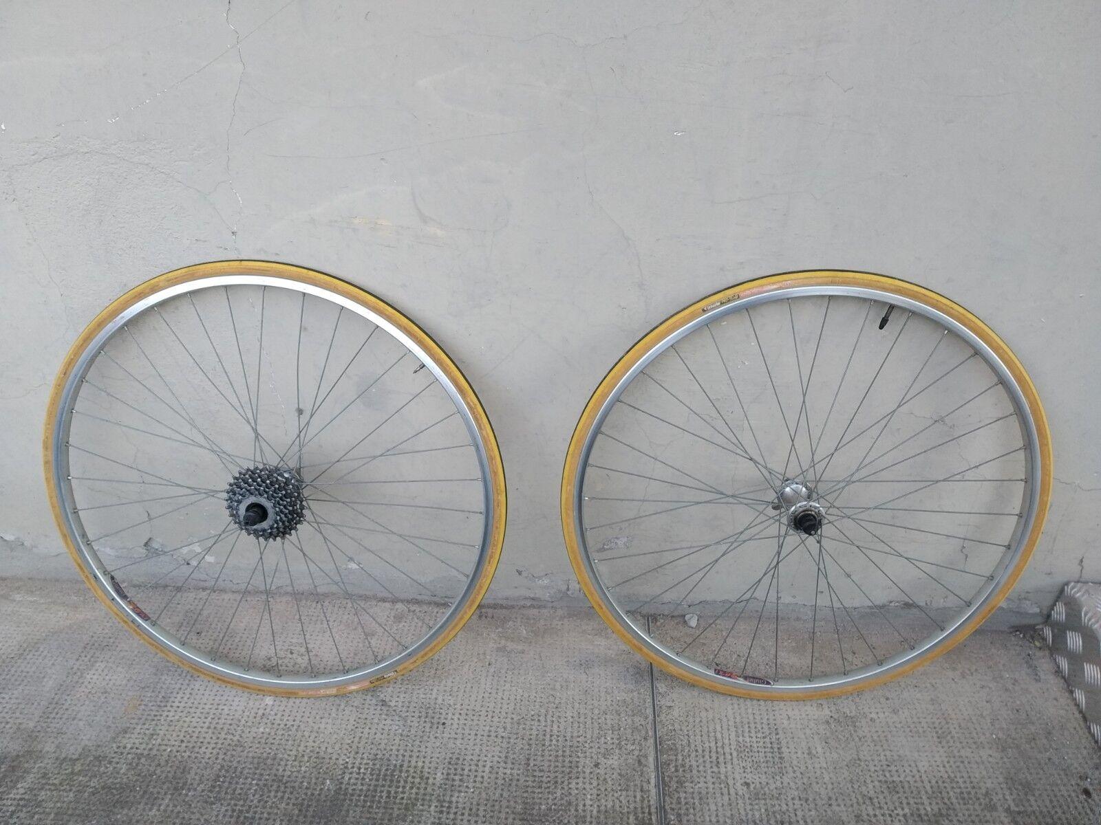 Ruote   vintage corsa  28   eroica  wheels  miche giuliet