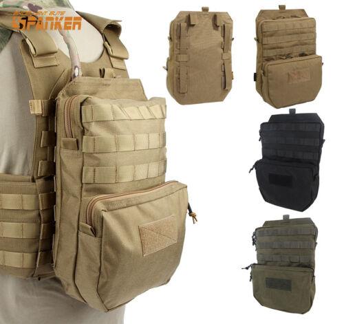 3L Molle Hydration Water Reservoir Bag Assault Backpack Pouch for JPC SPC Vest