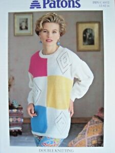 King Cole 5205 Girls DK Sweater Knitting Pattern