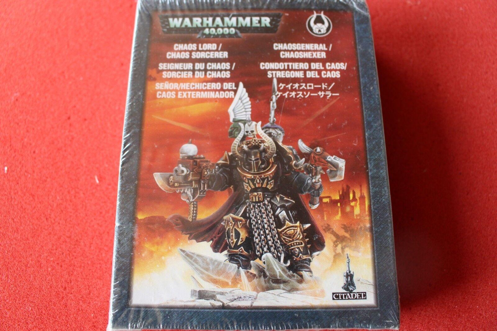 Games Workshop Warhammer 40k Chaos Space Marines Terminator Lord Sorcerer New