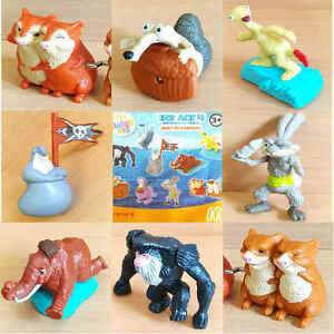 mcdonalds happy meal toy 2012 ice age 4 movie character