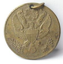 Médaille Franco américaine France USA sceau eagle aigle 1920 A J Corbierre Medal