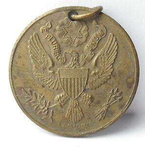 Medal-Franco-American-France-USA-Seal-Eagle-Eagle-1920-a-J-Corbierre-Medal