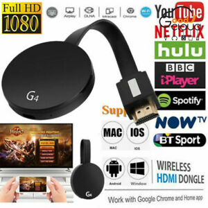 Details about For Chromecast 4rd Generation HD 1080P Digital HDMI Media  Video Streamer Player