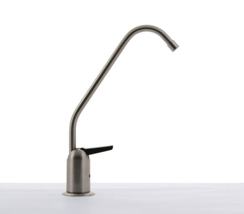 Hydronix Long Reach RO Filtered Water Faucet Lead Free Brushed Nickel w// Air Gap