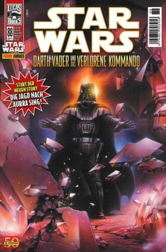 deutsch PANINI COMICS 2011 # 88 DARTH VADER...DAS FINALE STAR WARS TOP