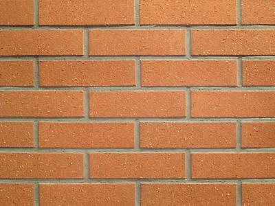 Fassade Heimwerker Strangpress-verblender Df Dünnformat Bh590 Rot Glatt Besandet Klinker Um Eine Reibungslose üBertragung Zu GewäHrleisten