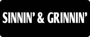 3-Sinnin-039-Grinnin-Hard-Hat-Biker-Helmet-Sticker-BS-1031