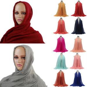 1x-Ladies-Premium-Viscose-Maxi-Crinkle-Cloud-Hijab-Scarf-Shawl-Soft-Islam-Muslim