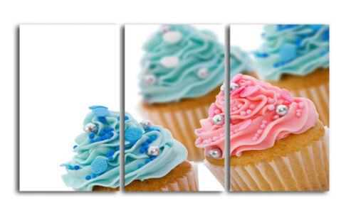 Food Canvas Print Kitchen Cupcakes zoom FAD1M