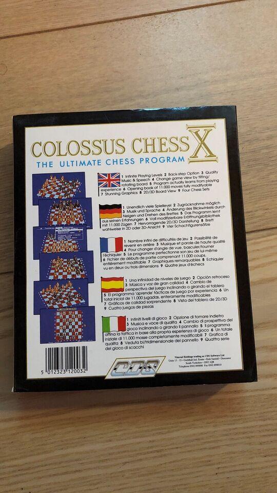 Colossus Chess X, Amiga spil