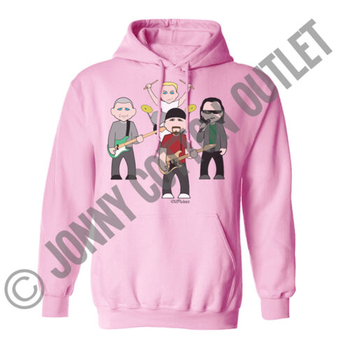 VIPwees Unisex Hoodie Alternative Music Inspired Caricatures Choose Your Design