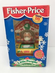 Cvs Hours Christmas Eve.Christmas Eve Santa Workshop Cvs Exclusive 1999 Fisher Price