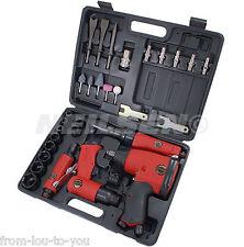 """1/2"""" Kit di strumenti d'aria DR nel caso chiave a cricchetto-impatto Die Grinder Martello prese"""