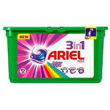 2 x Ariel 3in1 Pods Washing Tablets Colour Style 38 Washes