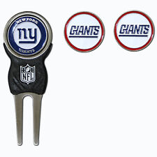 New York Giants NFL Team Golf Divot Tool with 3 Magnetic Ball Markers