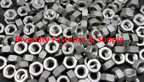 15 M14-1.5 Left Hand Fine Thread Hex Nuts 14mm With 22mm Hex