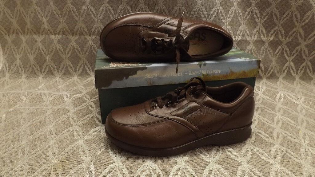 Zapatos De Cuero SAS tiempo de En espera Antiguo Nogal Tripad Comfort Nuevo En de Caja n Usa Made 338421