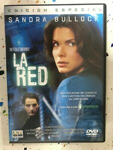 LA RED DVD SANDRA BULLOCK IRWIN WINKLER THE NET COLUMBIA ESPAÑOL INGLES ITALI AM