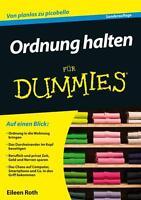 Ordnung halten für Dummies von Eileen Roth (2015, Taschenbuch)