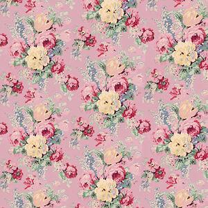 Casa De Muñecas helechos Wallpaper 1:12 Hojas Perlado Brillo Papel 1:24