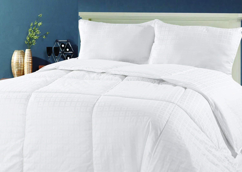 Premium 100% Austrialian Wool Comforter Extra Weight Cotton Jacquard in 4 Größe