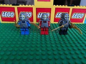 LEGO-3-MAIN-KENDO-version-NINJAS-minifigures-NINJAGO-KAI-JAY-COLE-9558-9456-9446