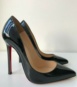 low priced ac6ff fc88a Details about Christian Louboutin So Kate 120 Black EU Sz 36.5 US 6.5