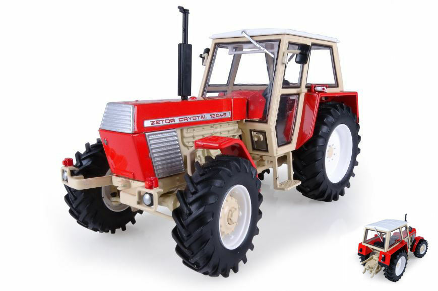 Zetor Crystal 12045 Museum Edition Trattore Tractor 1 32 Model 4949