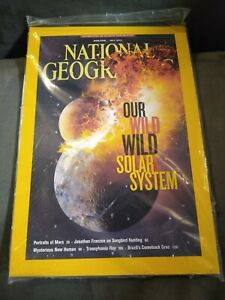 National Geographic Magazine July 2013 Our Wild Wild Solar System -MARS- FRANZEN