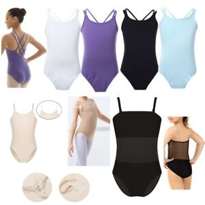 Kids Girls Ballet Dance Gymnastics Leotards Bodysuit Sport Camisole Undergarment