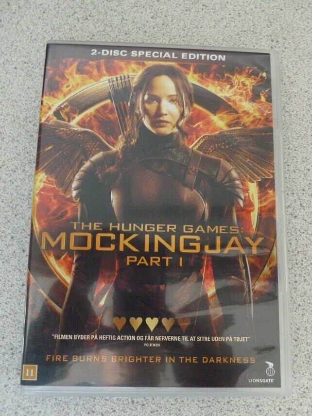 The Hunger Games, DVD, science fiction