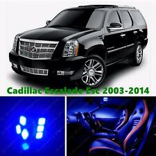 18pcs LED Blue Light Interior Package Kit for Cadillac Escalade ESV 2014