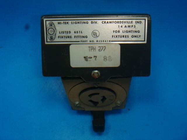 Lithonia Pendant Power Hook 277V Load Break Device