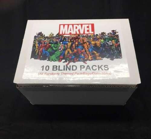 10+ MARVEL SUPERHEROES MYSTERY BLIND BOX RANDOM MARVEL BLIND PACKS TY308