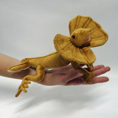 Frilled Dragon Plush cute & realistic