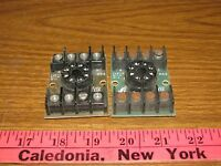 Curtis Rs8, 8 Pin Socket Relay, Lot Of 2