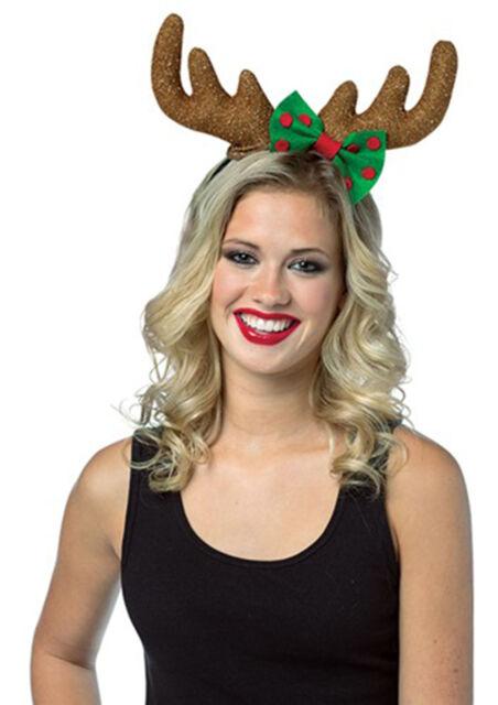 Red Antlers Christmas Horse Dress Up Reindeer Antlers Fancy Dress