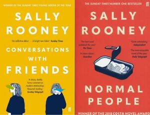 Sally-Rooney-2-Books-Set-Collection-Conversations-with-Friends-amp-Normal-People