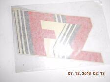 1987 88 YAMAHA FZ600 Fairing Cowling GRAPHIC Decal  OEM  2AX-28328-00 (/10) NOS