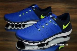 Nike Free Trainer 5.0 v6 Royal Blue Volt 719922-470 Running Shoes Men's Multi Sz